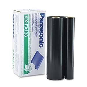Panasonic KX-FA133 Fax Thermal Transfer Ribbon, Black, 650 Page Yield, Refill Only