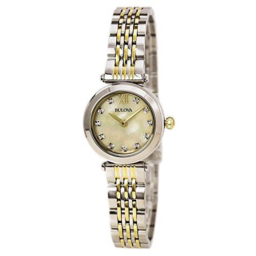 Bulova Women's Quartz Stainless Steel Dress Watch (Model: 98P154)