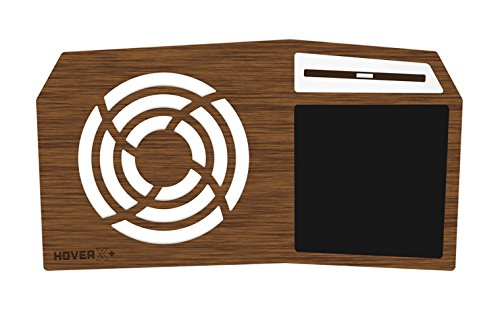 """Hover X+ - Ultimate Gamers LapDesk - Giant Gamers Mousepad - Heat Ventilation - Natural or Walnut Bamboo - Made in the USA (Standard - 13"""" and 15"""" Laptops, Limited Walnut Bamboo)"""
