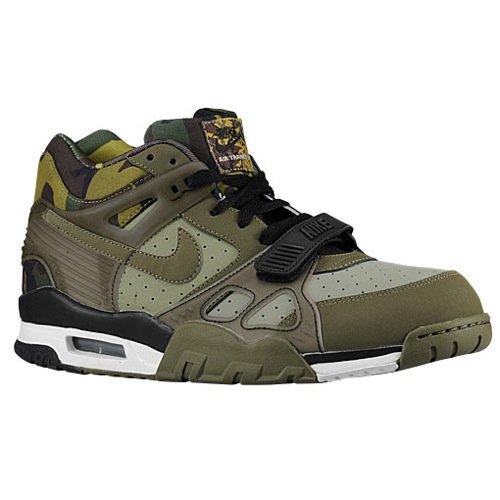 NIKE Air Trainer 3 Mens Cross Training Shoes 705426-300 Grey 8 M US (Nike Sc Trainer High)