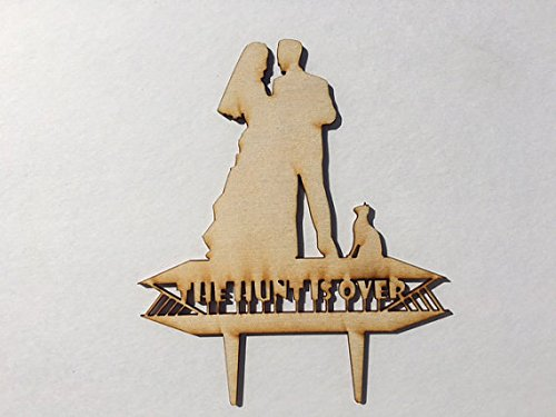 Wedding Cake Topper - The hunt is over - AW1012W