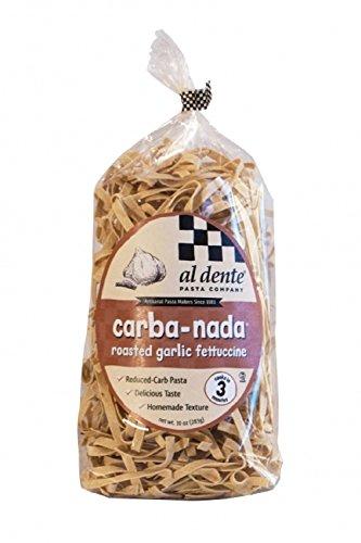 - Al Dente Pasta Carba-Nada Roasted Garlic Fettuccine 10 Ounce Bag