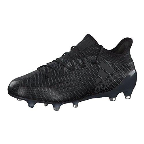 adidas X 17.1 Fg, Scarpe da Calcio Uomo Nero (Negbás / Supcia 000)