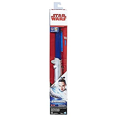 Star Wars: The Last Jedi Rey (Jedi Training) Electronic Lightsaber: Toys & Games