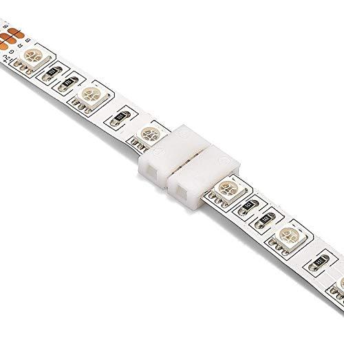Gimax 2000pcs 8mm 10mm 4 Pin RGB LED Strip Connector 12mm 5 Pin RGBW Connector For SMD LED Strip Lights - (Color: 12mm 5pin, Connector Type: Panel Connector, Pins: 4P) by GIMAX (Image #6)