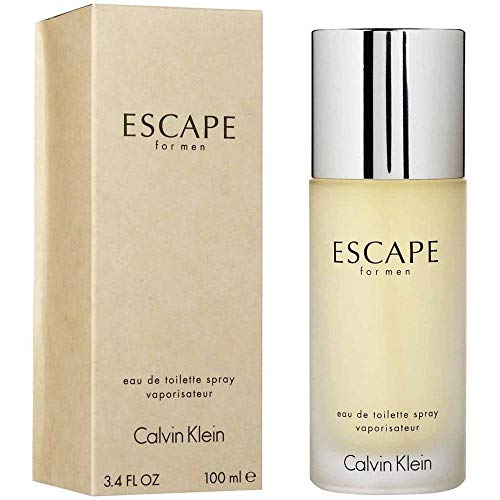 ESCAPE for men 3.4 fl oz Eau De Toilette + Free lip Balm ()