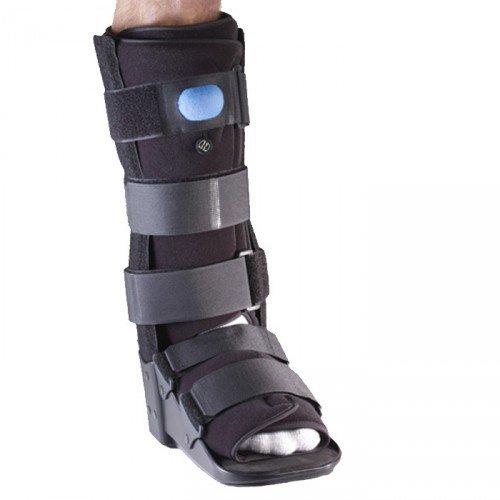 Corflex Walker - Corflex Pneumatic Walker-Large-Lower Leg - Black