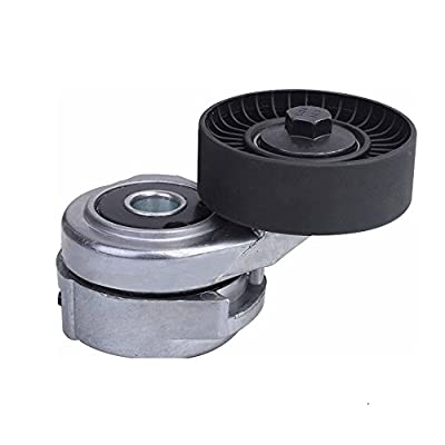 DRIVESTAR Belt Tensioner & Pulley Assembly for 1993-2007 Ford Taurus 1993-2005 Mercury Sable 3.0L V6: Automotive