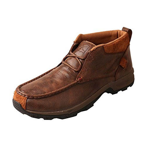 Twisted X Boots Mens Lace up Waterproof Old Hiker 11.5 M Brown -