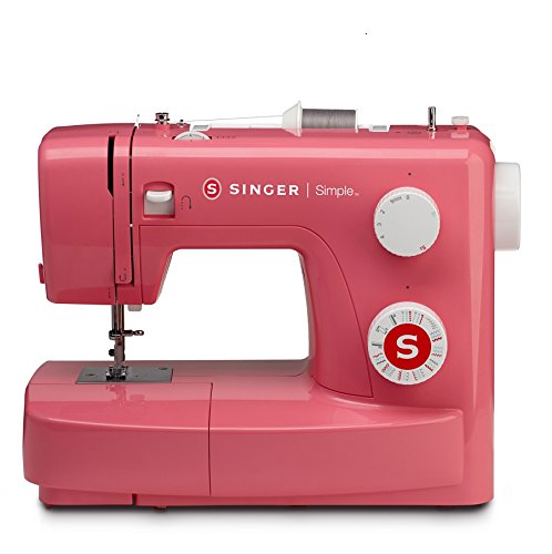 Singer Simple 3223 Red Automatic Sewing Machine