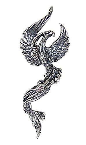 Sterling Silver Phoenix Pendant