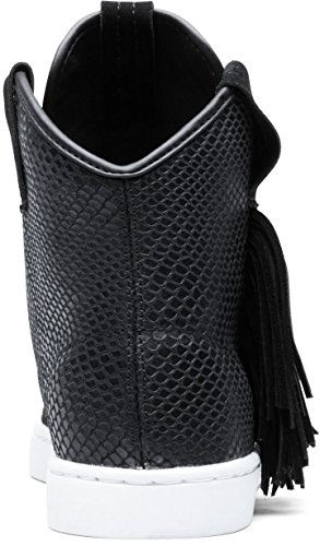 SCARPE DONNA SUPRA WOMEN-WESTERN SW43000 (36 - BLACK-SNAKE-WHITE)