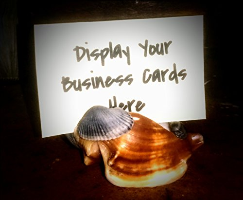 Buy cheap seashell business card holder beach themed office decor nautical classy hand made the support products