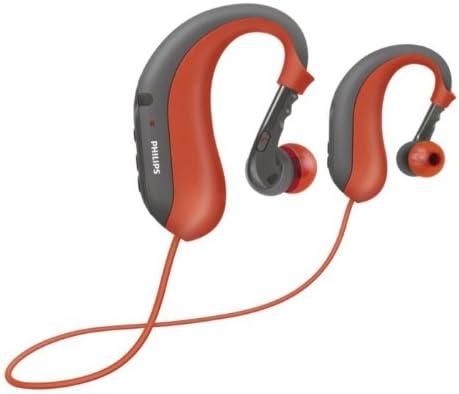 Philips SHB6017 - Auriculares de clip Bluetooth, rojo: Amazon.es ...