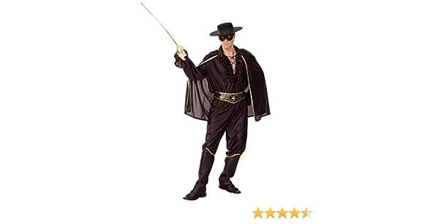thematys® Disfraz de Zorro para Hombre Cosplay, Carnaval y ...