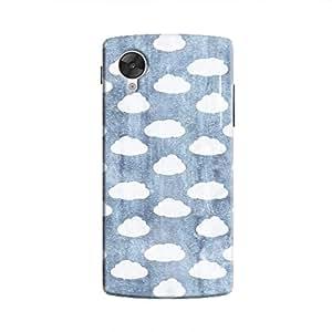 Cover It Up - Clouds Denim Sky Nexus 5 Hard Case