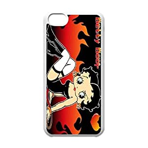 Lovely Anime Betty Boop Cover Case For Iphone 5c TPUKO-Q881978