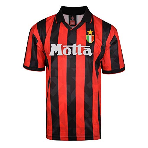 Score Draw AC Milan 1994 Retro Football Soccer T-Shirt ()