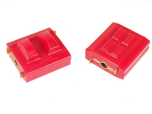 Prothane 7-506 Red Motor Mount Kit (Prothane Motor Mounts)