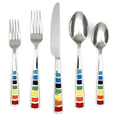 Fiesta Masquerade Epoxy 20-Piece Flatware Set