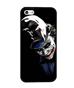 Cool DC Comics Iphone 5C Funda Case Joker Smile Symbol [Perfect-Fit] Premium Hard Plastic Tough Funda Case And Cover