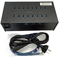 Eyeboot 19 Port 40A USB 3.0 Hub 110-120V 2 amps per port