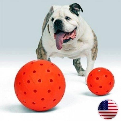 The Big Daddy 10'' Unbreakoball Large Dog Toy Bright Orange