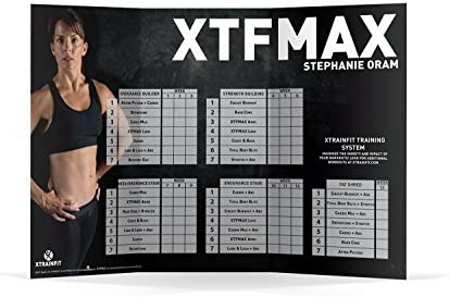 XTFMAX: 90 Day DVD Workout Program with 12 Exercise Videos + Training Calendar & Fitness Guide and Nutrition Plan 5
