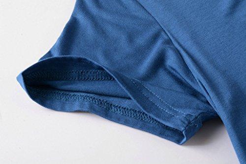 1208e16f37c Jual LARACE Women Short Sleeves Flare Tunic Tops for Leggings Flowy ...
