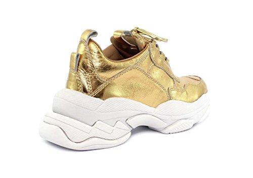 Sneaker Lofi Campbell Calf Jeffrey Pat Gold Crinkle AUOSqc5xw