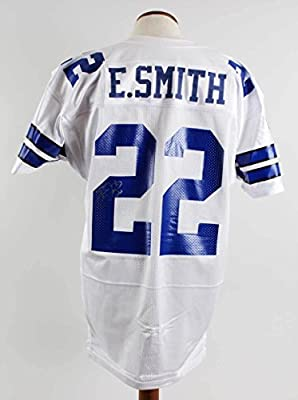 reputable site 7e8b8 a1b45 Signed Emmitt Smith Jersey - JSA Certified - Autographed NFL ...