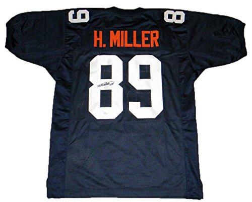 Heath Miller Autographed Jersey - #89 Navy - JSA Certified - Autographed College Jerseys ()