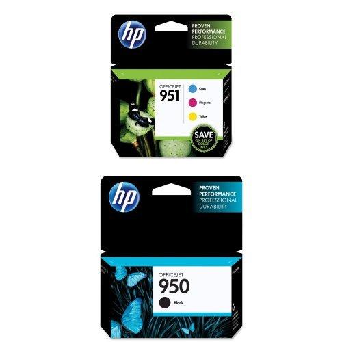 Genuine HP 950 Black /& 951 Cyan Magenta Yellow Ink Cartridges