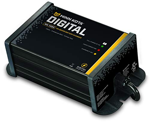 MinnKota MK 106D On-Board Battery Charger (1 Bank, 6 Amps)