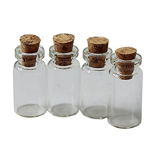 empty bottles with cork - 4