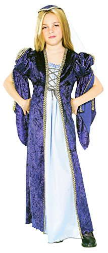 [Rubies Renaissance Faire Juliet Child Costume, Medium, One Color] (Childrens Medieval Costumes Renaissance)