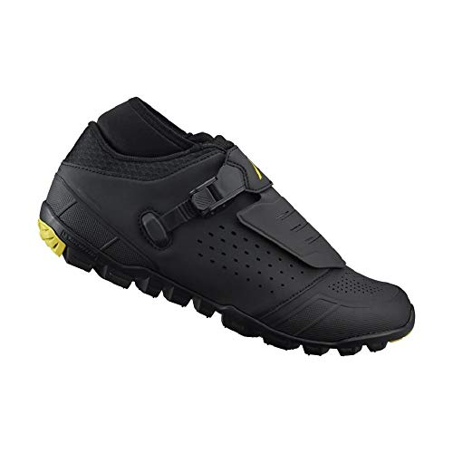(SHIMANO SH-ME701 LSG Series Premier Multi-Condition Trail, Enduro, Cycling Bicycle Shoes, Black, 42)