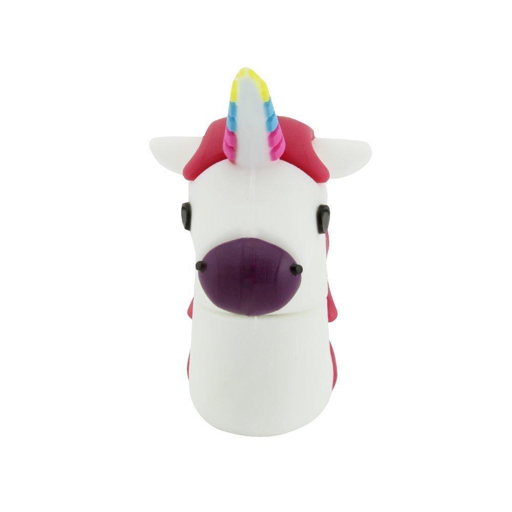 Novelty Unicorn Shape Design 16GB USB 2.0 Flash Drive Cute Memory Stick Horse Thumb Drive Data Storage Pendrive Cartoon Jump Drive Gift by Yatai (Image #6)