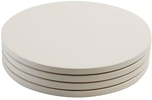 Round Mini Pizza Stones / Set 4 - 8