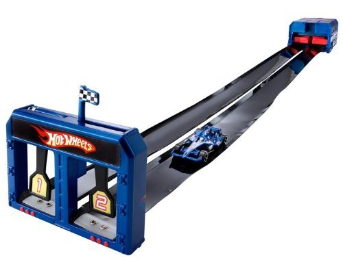 Hot Wheels Indy Roll-Up - Warehouse Track