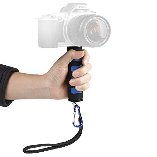1/4″ Screw Mini DSLR Hand Stabilizer Holder Grip for Smartphones,GoPro,Canon,Nikon & Other DSLR Cameras with Mobile Attachment