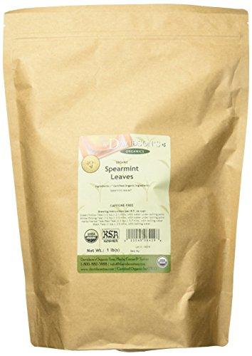 (Davidson's Tea Bulk Organic Spearmint Leaves, 16-Ounce Bag)