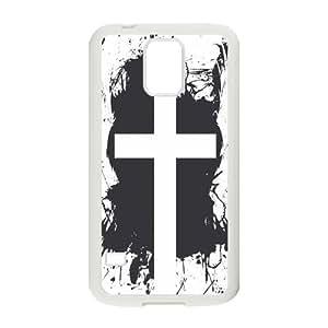 Nymeria 19 Customized Jesus Christ Cross Diy Design For Samsung Galaxy S5 Hard Back Cover Case DE-434