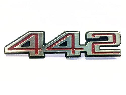Oldsmobile Cutlass Emblem - GBodyParts 1978-1987 Oldsmobile Cutlass 442 Supreme Upper Door Panel Emblem