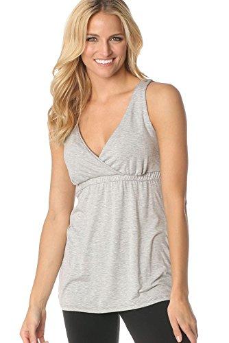 Majamas New Nursing Clothes - Majamas The New Original Nursing Top #13-2800 (X-Large, Pebble)