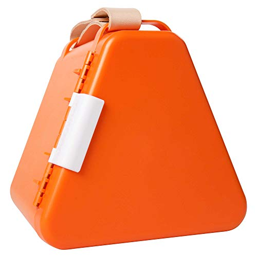 Fat Brain Toys Teebee - Play & Store Toy Box - Orange Gear & Apparel for Ages 3 to 10 ()