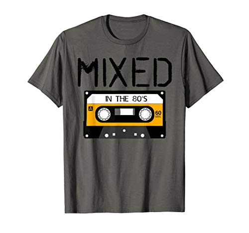 Mixed In The 80's Retro Vintage Old School Cassette Shirt T-Shirt ()