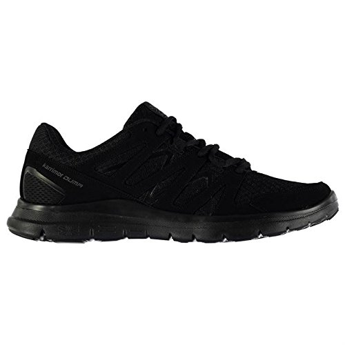 Karrimor Mens Sneakers Duma Training Sports Schwarz Up Lace Laufen Cross Schuhe Schwarz AAwraxR