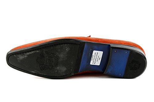 1299 Uomo Hamilton Orange MH15 Arancione Mocassini amp; Melvin w7RPq