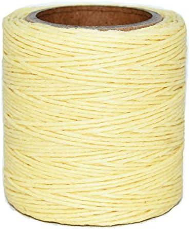 Includes 2 spools. .030 Lark Waxed Polycord Maine Thread 210 feet Each